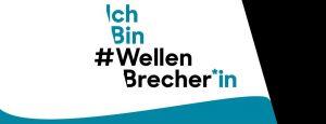 Logo der #Wellenbrecher Kampagne des Landes Baden-Württemberg